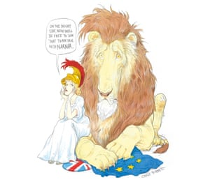 Narnia by Chris RiddellThe hard Brexit fantasists will be judged by future generations who will rightly ask why economic and cultural isolation was preferable to an ever-closer union. When we've had our fill of Turkish delight and permanent winter, there will be another referendum.