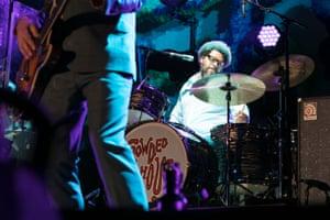 Matt Sherrod on drums