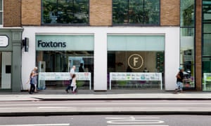 A branch of Foxtons in Islington, north London