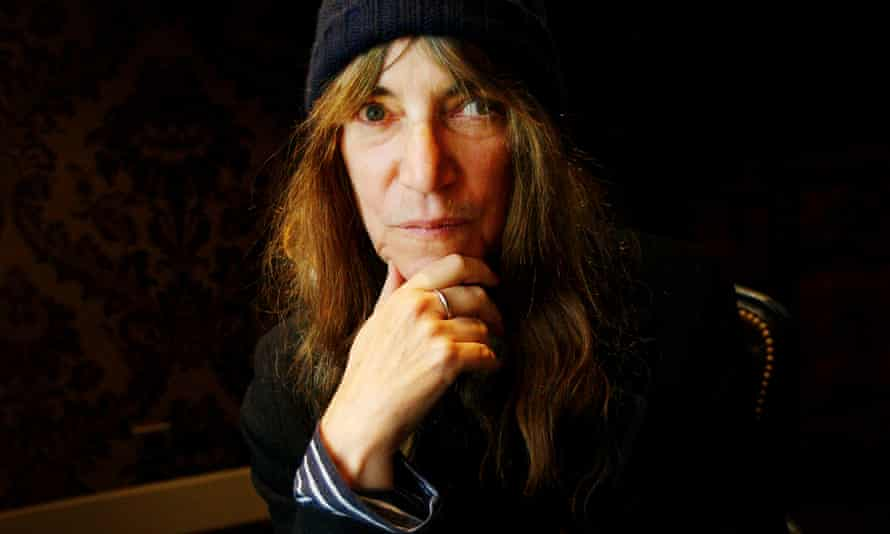'With the exception of Patti Smith, punk is not usually associated with poetry'