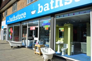 A Bathstore outlet