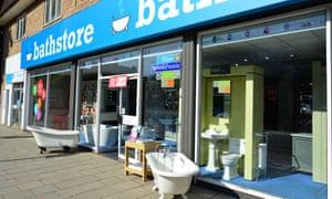 Bathstore high street shop