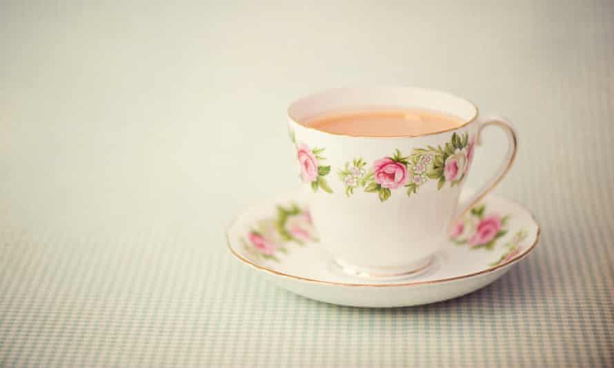 Nice cup of tea and saucer