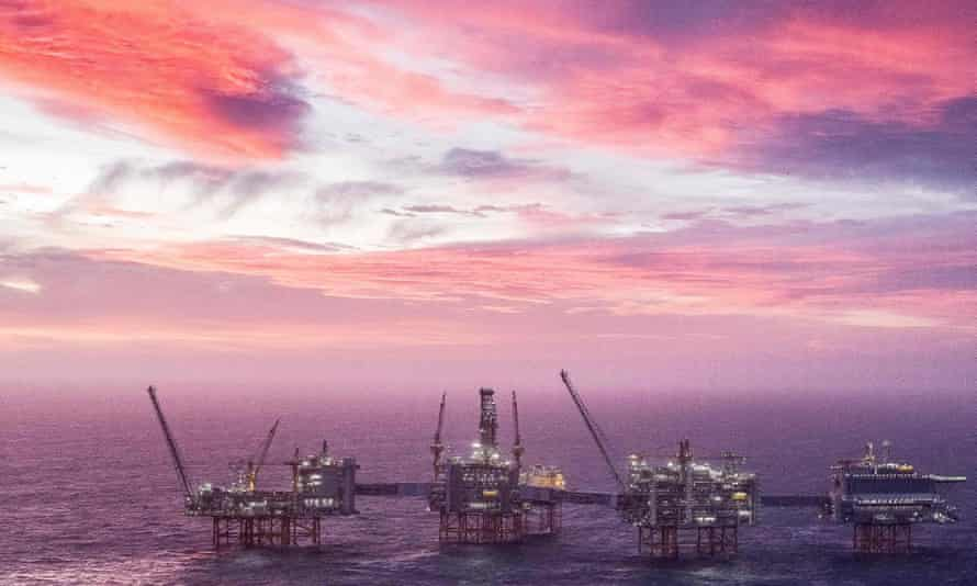 There are concerns over the hold that state-backed fossil fuel companies and private equity firms have on oil fields in the North Sea.