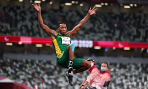 Mpumelelo Mhlongo of South Africa.