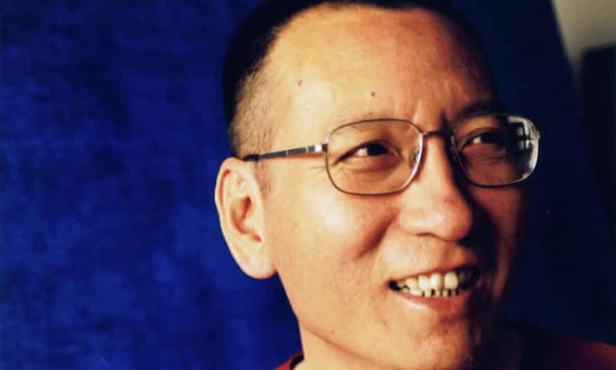 Chinese dissident Liu Xiaobo in a photo first issued by his wife in 2010