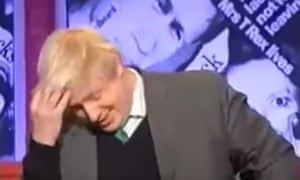 Boris Johnson endears himself to the nation on Have I Got News For You, with a spot of hair-ruffling.