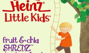 Heinz Little Kids Shredz packaging