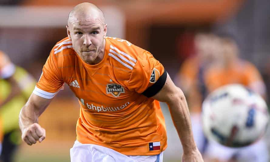 Philippe Senderos, who speaks six languages, has a role mentoring players at Houston Dynamo. 'Most of the training sessions and meetings are half in English, half in Spanish,' he says.