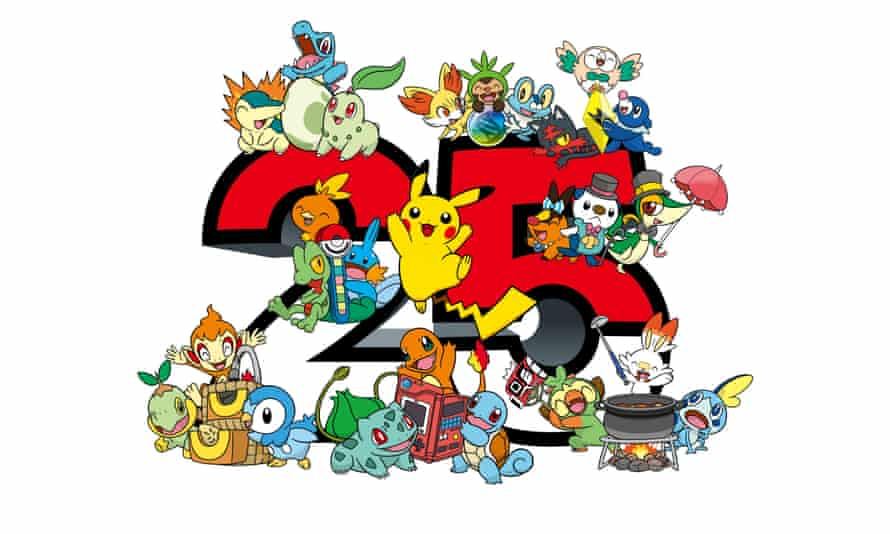Pokémon 25th anniversary logo ... 'Pretty much nobody over the age of 11 in the year 1999 escaped Pokémon's gravitational pull.'