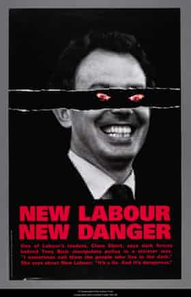 A Conservative party poster from the 1997 general election.