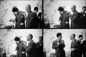 Photographers Elliott Erwitt and Henri Cartier-Bresson, 1959