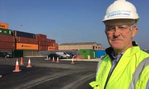 Eamonn O'Reilly, CEO of Dublin port