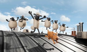 A still from Shaun the Sheep Movie.