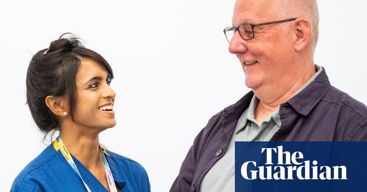 After ICU: a Covid patient meets one of the doctors who saved his life