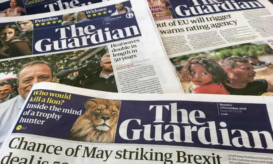 The Guardian is on track to break even by April.