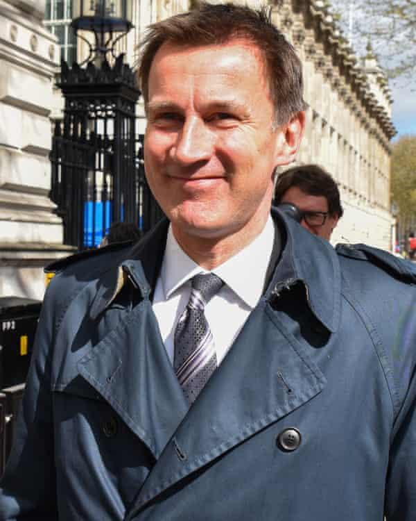 Jeremy Hunt.