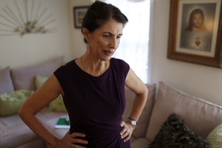 James Foley's mother, Diane, at home in New Hampshire shortly after the execution was posted on YouTube, August 2014
