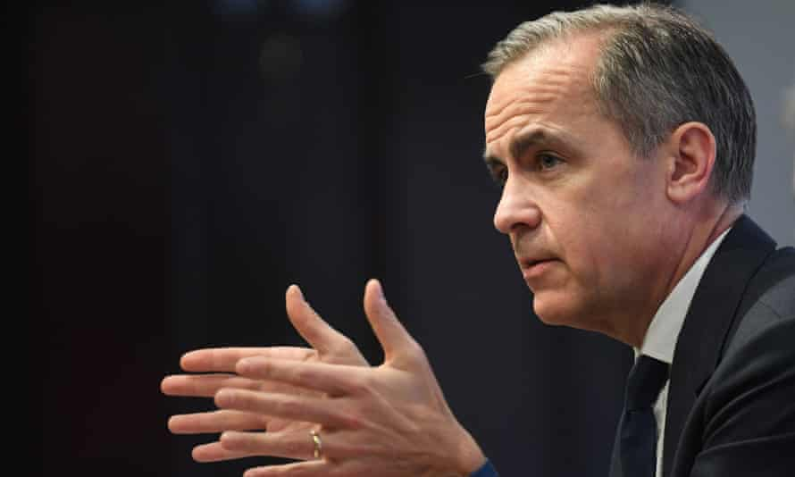 The Bank of England governor, Mark Carney.