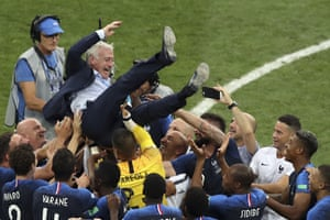 Didier Deschamps has now won the trophy as both a player and manager.