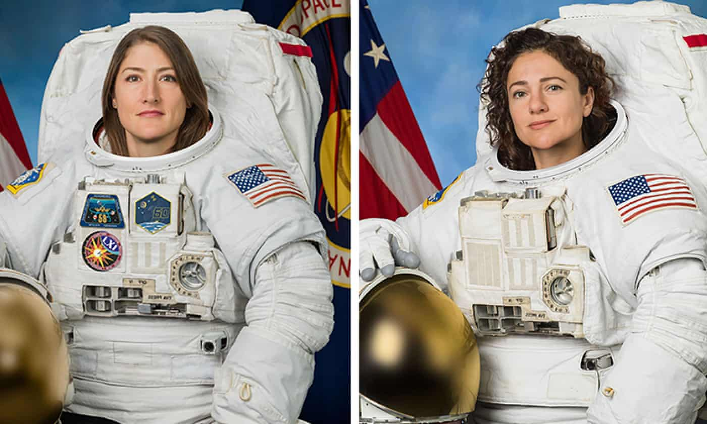 Nasa plans historic first all-female spacewalk in coming days