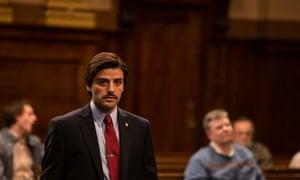 Oscar Isaac as Nick Wasicsko in Show Me a Hero.
