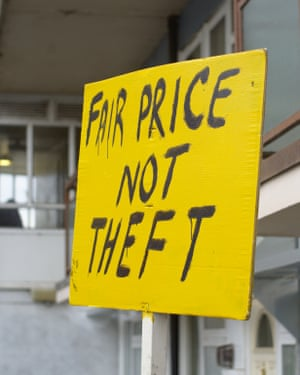Residents of West Hendon estate protest against Barnet council's plans.