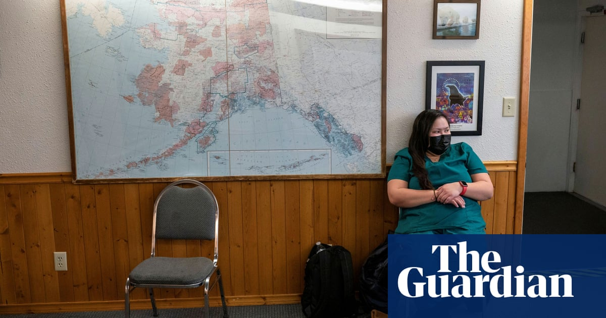'It's awful. It's exhausting': Alaska rations care as it hits Covid nadir