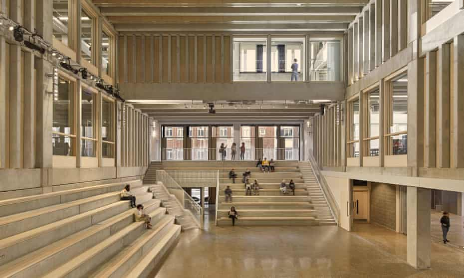 'A warehouse of ideas' … Town House at Kingston University.