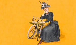An advertisement for Stower's Lime Juice Cordial from around 1898 showing a fashionable Victorian woman relaxing while having a refreshing drink.