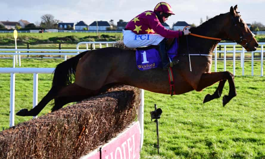 Minella Indo pictured winning at Wexford in October.