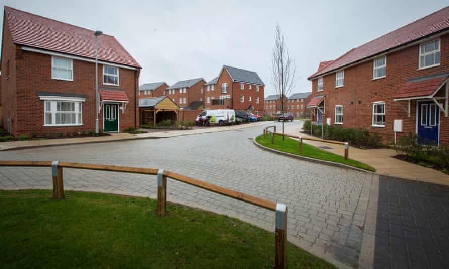 The Castle Hill development at Ebbsfleet, Kent.