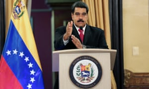 Nicolás Maduro has accused the Colombian president and a network of plotters of trying to assassinate him.