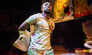 'Will he, won't he?': Paapa Essiedu, a convincing young Hamlet at the RSC in Stratford.