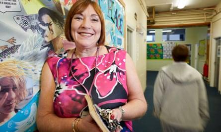The headteacher, Wendy Casson
