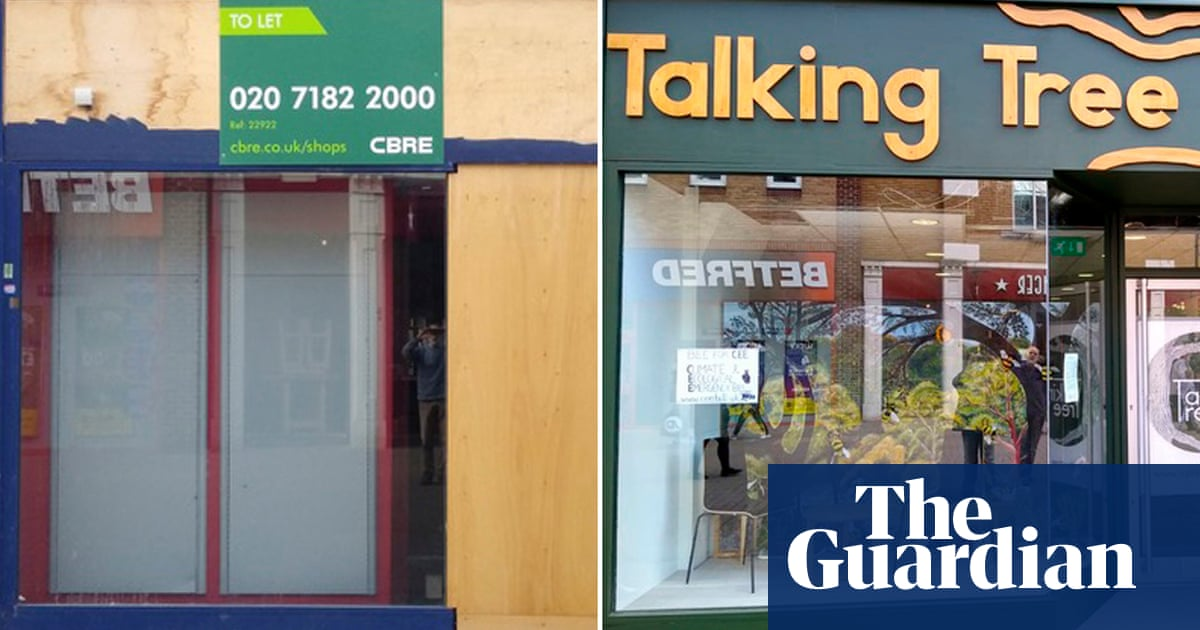 High street shops in England and Wales repurposed as climate emergency centres