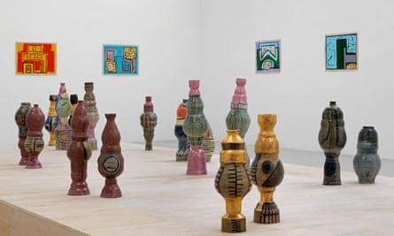 An installation by the Oxford-based artist Shawanda Corbett.
