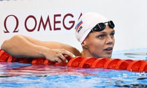 Yulia Efimova finished second in the 200m breaststroke