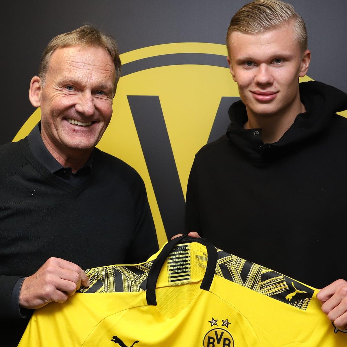 Borussia Dortmund Sign Erling Braut Haaland From Rb Salzburg For 22 5m Borussia Dortmund The Guardian