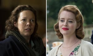 The new and old Queens: Olivia Colman and Claire Foy