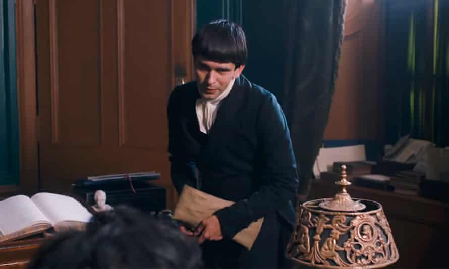 UK. Ben Whishaw as Uriah Heep in The Personal History of David Copperfield.