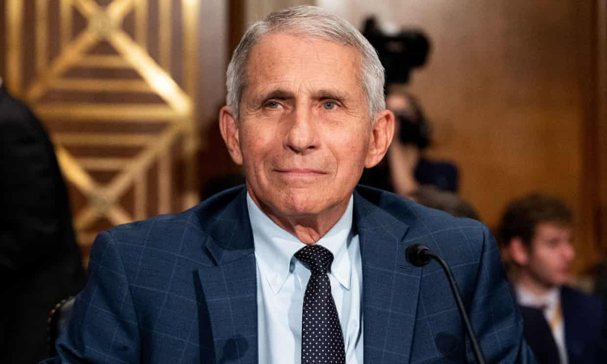 Dr Anthony Fauci. Photograph: Michael Brochstein/SOPA Images/REX/Shutterstock
