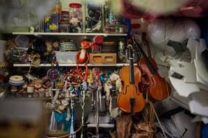 Judith Hope's studio