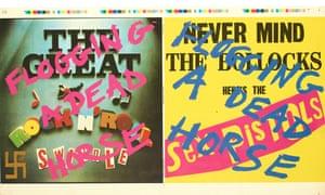 Trevor Key work on Sex Pistols covers.