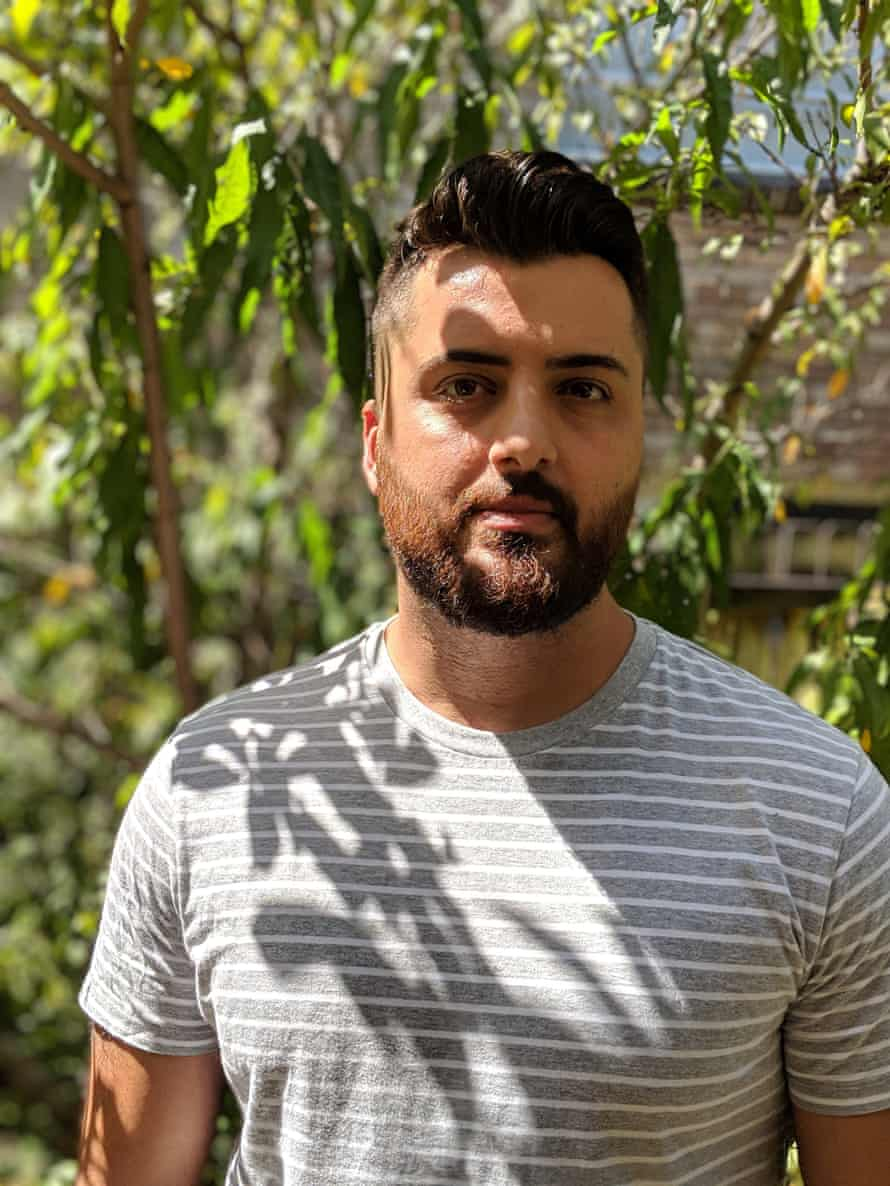 Poet and essayist Omar Sakr, another contributor to the anthology.
