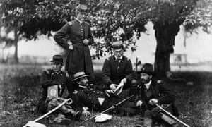 Union army officers, 1863