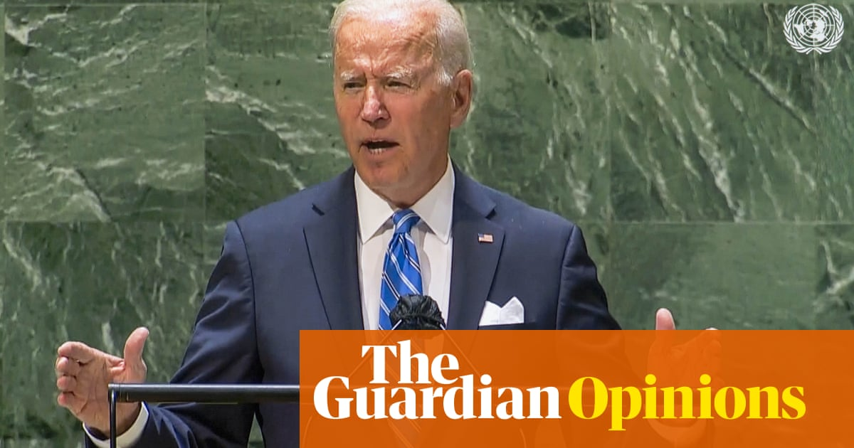 The Guardian view on Biden's UN speech: cooperation not competition