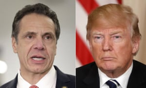 New York governor Andrew Cuomo and President Donald Trump have been giving regular Covid-19 briefings