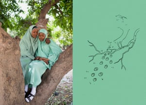 Rukkaya and Hadiza, Maiduguri, Nigeria, 2016