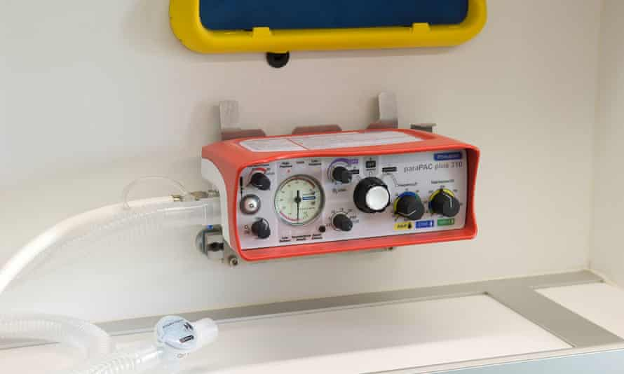 Smiths Medical's ParaPac plus ventilator